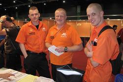 Gerard De Rooy, Tom Colsoul and Marcel Van Melis