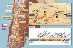 Stage 5: 2009-01-07, Neuquen to San Rafaël