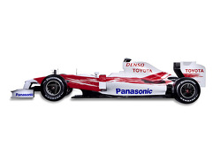 The new Toyota TF109