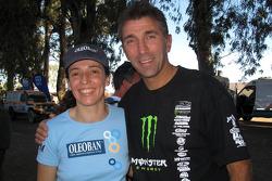 Elisabete Jacinto et Éric Vigouroux