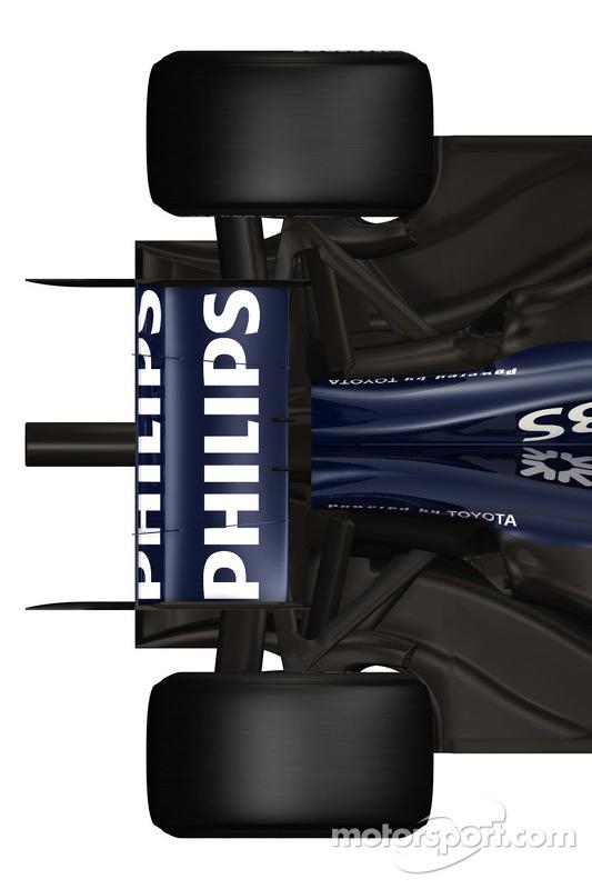 Williams FW 31: Heckpartie