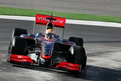 Lewis Hamilton, McLaren Mercedes, in the new MP4-24