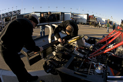 Childress-Howard Motorsports team members at work