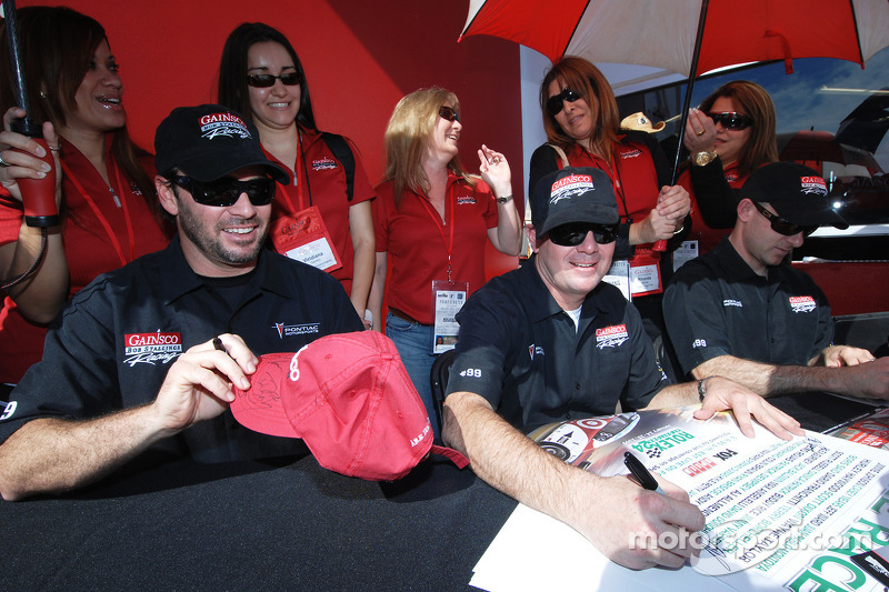 Jimmie Johnson and Jimmy Vasser