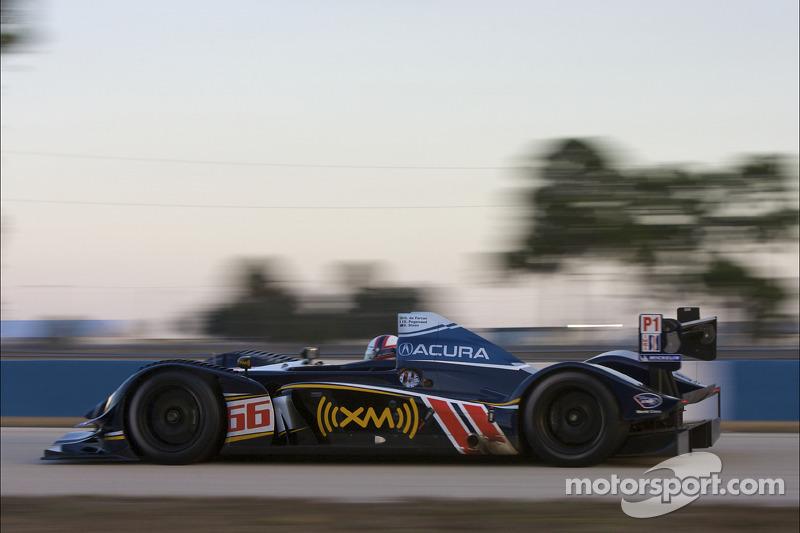 #66 de Ferran Motorsports Acura ARX 02a Acura: Gil de Ferran, Simon Pagenaud