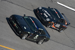 #5 Blackforest Motorsports Dodge Challenger: Ian James, Tom Nastasi, #88 Ranger Sports Racing Porsche 997: Barry Ellis, Fraser Wellon
