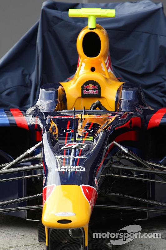 Red Bull RB5: Frontflügel