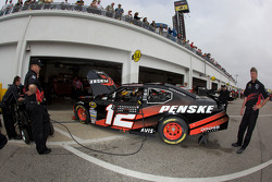 Penske Racing Dodge crew members at work