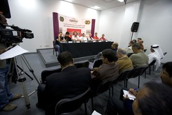 Media in the press conference