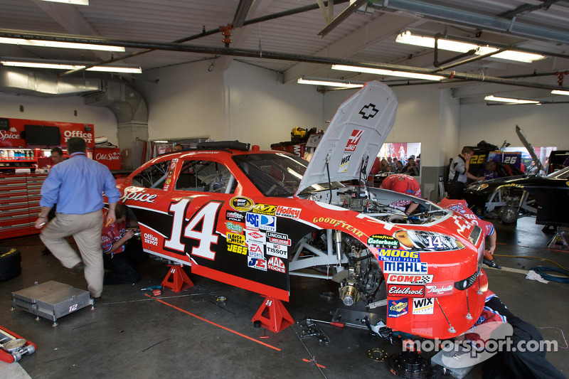 Stewart Haas Racing Chevrolet Garage At Daytona 500