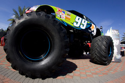 Aflac press conference: the Aflac monster truck