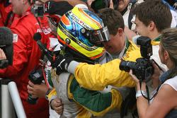 Second place Felipe Guimaraes