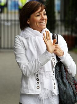 The wife of Sébastien Bourdais, Scuderia Toro Rosso