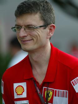 Chris Dyer, Ferrari