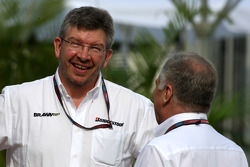Ross Brawn Brawn GP Takım Patronu, Patrick Head, Williams F1 Team, Direktör, mühendising