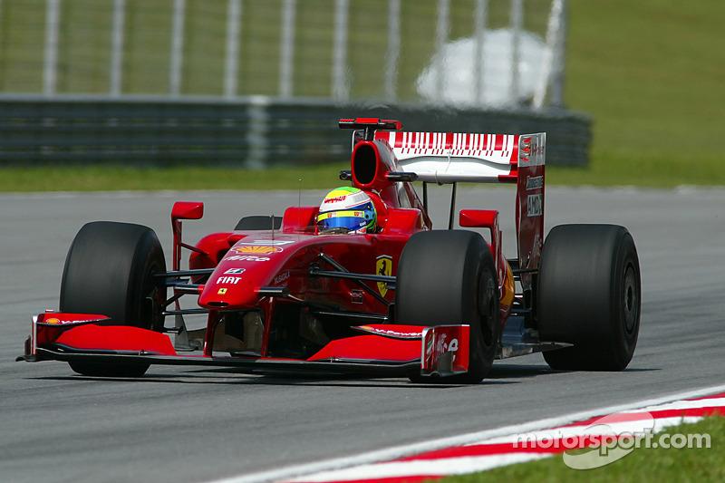 2009: Ferrari F60 - 22 pontos, 11º colocado no Mundial de Pilotos