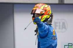 Diego Nunes celebrates his victory