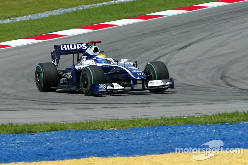 7º - Nico Rosberg – 27 GPs entre 2008 e 2009