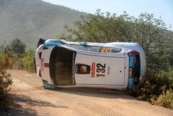 Авария Бернарду Соуза и Хорхе Карральо, Fiat Grande Punto S2000