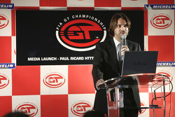 FIA-GT press conference: Stéphane Ratel