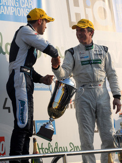 Jonny Adam and Jason Plato