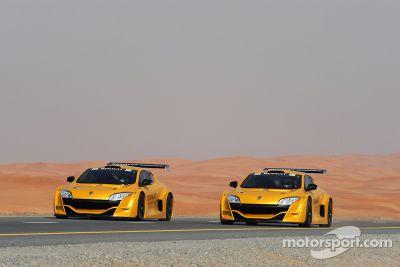 Le Renault F1 Roadshow à Dubai