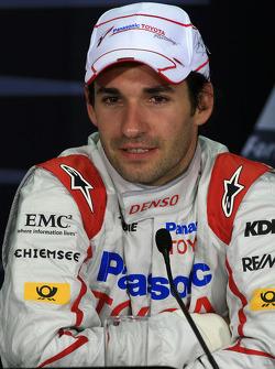 FIA press conference: Timo Glock, Toyota
