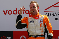 Race winner Robert Doornbos, driver of A1 Team Netherlands