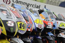 Foto de grupo de motocicletas de MotoGP 2009