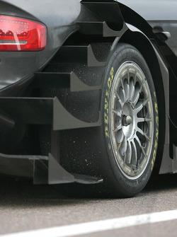 Car detail of Timo Scheider, Audi Sport Team Abt Audi A4