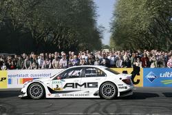 AMG Mercedes C-Klasse on the roadcourse