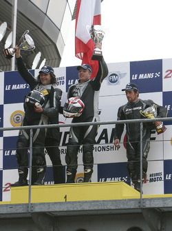 Podium Roadster Cup 1:H.Charvaux 2:T.Boyer 3:J.Masson