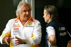 Flavio Briatore, Renault F1 Team, Takım Şefi, Direktörü ve Adam Parr, Williams F1 Team