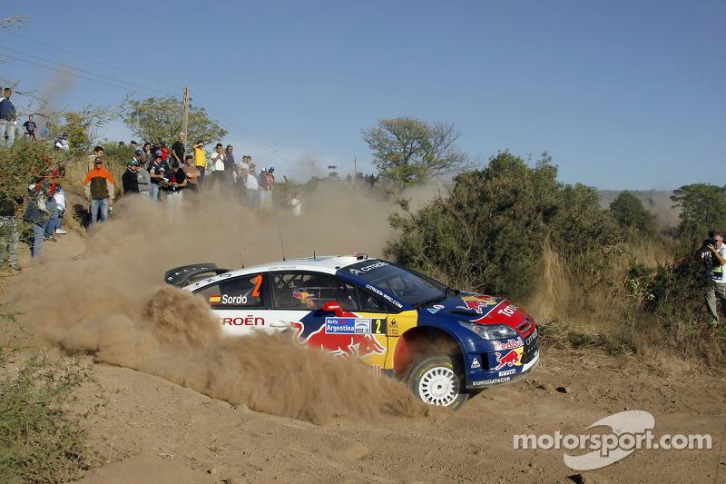 Daniel Sordo and Marc Marti, Citroen C4 Citroen Total World Rally Team
