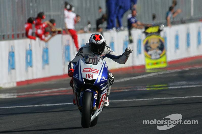 Pemenang 2009, Jorge Lorenzo, Fiat Yamaha Team