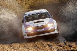 Nasser Al Attiyah and Chris Patterson, Subaru Impreza C07