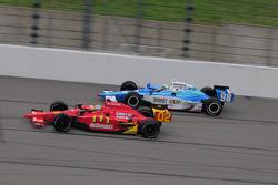 Graham Rahal Newman/Haas/Lanigan Racing laps Stanton Barrett, Curb/Agajanian/3G Racing