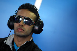 Parthiva Sureshwaren, driver of A1 Team India