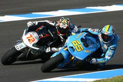 Loris Capirossi, Rizla Suzuki MotoGP, Yuki Takahashi, Scot Racing Team MotoGP