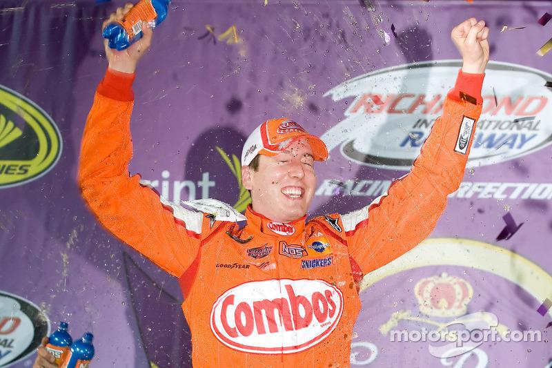 2009, Richmond 1: Kyle Busch (Gibbs-Toyota)