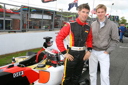 Michael Ammermuller, driver of A1 Team Germany with Nico Hulkenberg