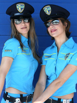 The charming Rizla Suzuki girls