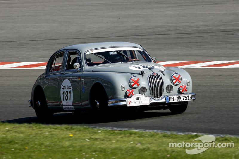 #181 Jaguar MK1 1958: Haase, Haase (D)