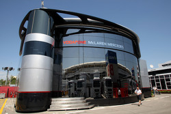 McLaren-Mercedes motorhome