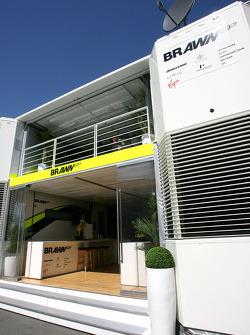 Brawn GP motorhome