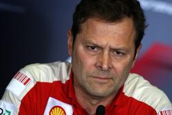 FIA press conference: Aldo Costa, Scuderia Ferrari
