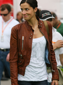 Marion Feichtner, girlfriend of Dietrich Mateschitz, Owner of Red Bull