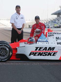 Tim Cindric, Helio Castroneves, Team Penske