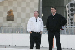 Chip Ganassi, Target Chip Ganassi Racing and Tim Cindric, Team Penske