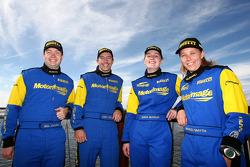Cody Crocker and Ben Atkinson, Motor Image Racing, Emma Gilmour and Rhianon Smyth, Motor Image Racing